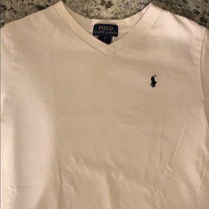 Ralph Lauren white T shirt